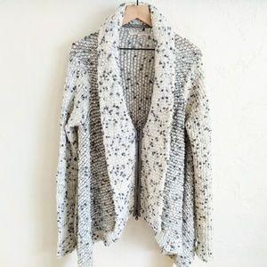 Brian Reyes Chunky Knit Blanket Cardigan Sweater S
